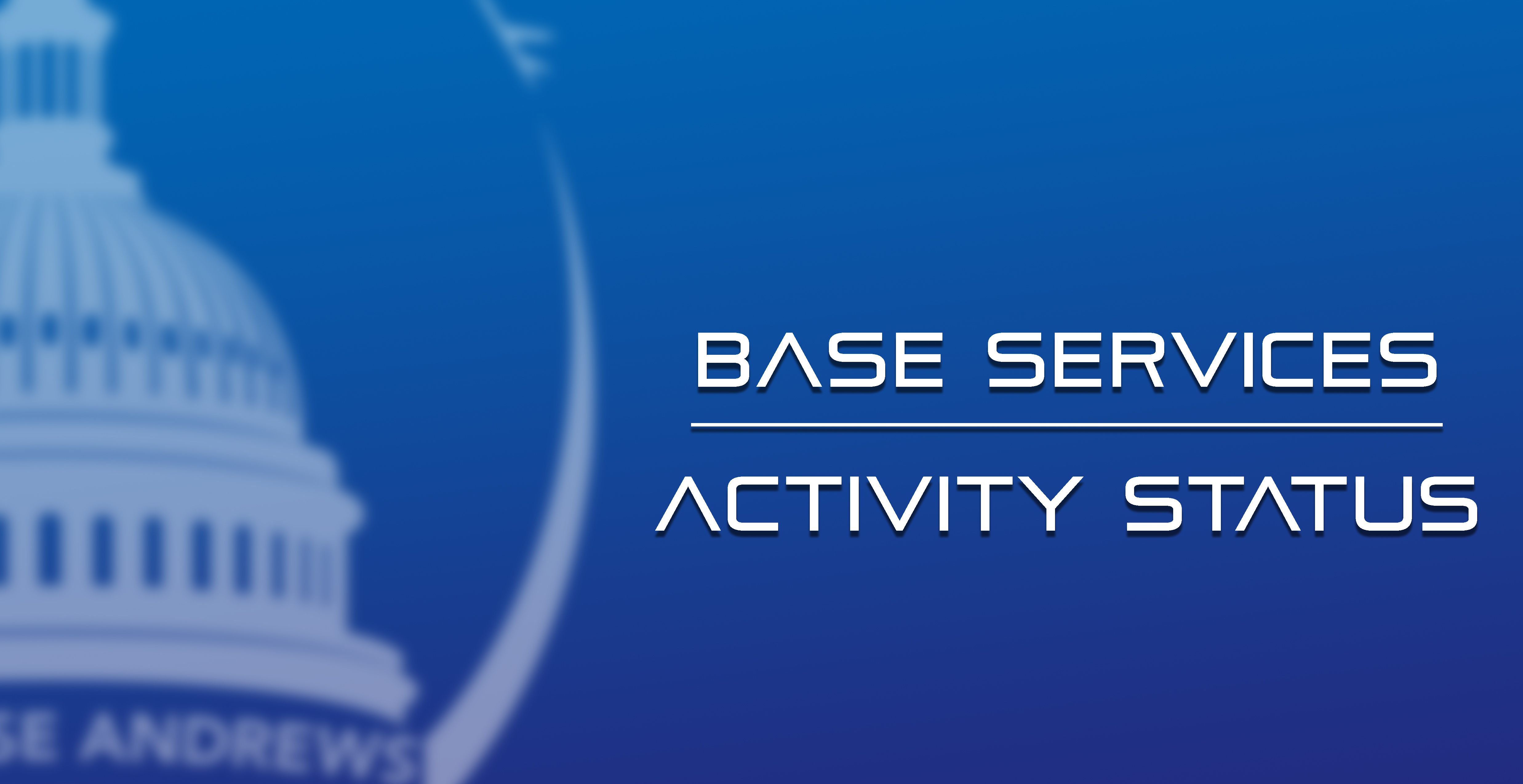 Base Services Activity Status