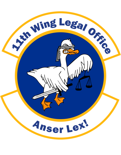11th Wing Legal Office Logo
