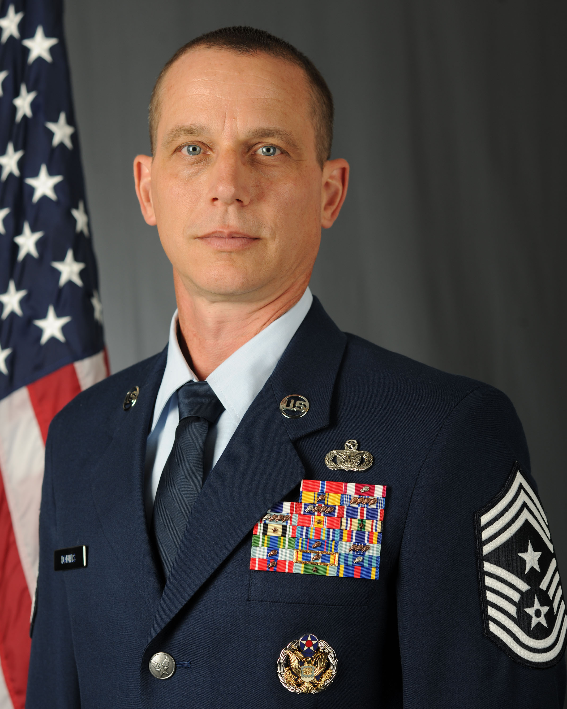 Command Chief Master Sgt. Thomas C. Daniels