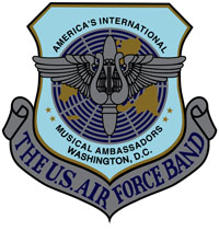 U.S. Air Force Band Badge